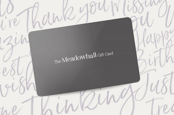 An image of a Meadowhall gift card.