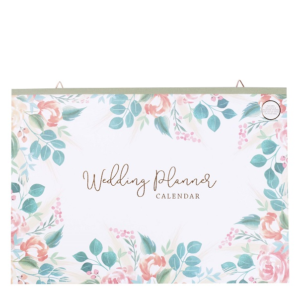 Wedding Planner calendar from Paperchase