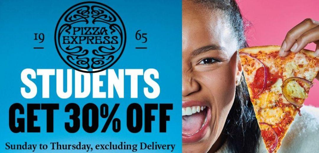 PizzaExpress | 30% Student Discount