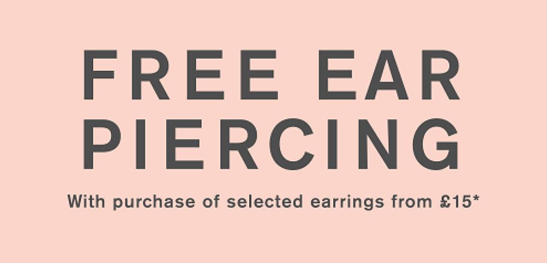 Accessorize | Free Ear Piercing*