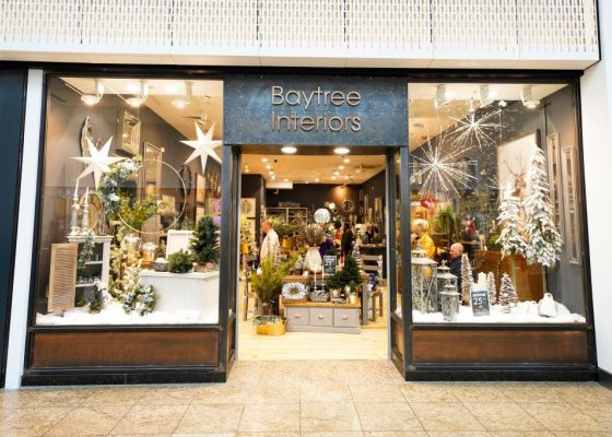 Store front of Baytree Interiors