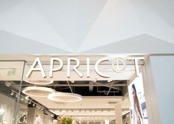Apricot Store Sign