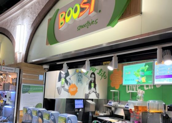 Boost the Lanes store front