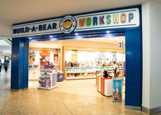 Build a Bear Store Front