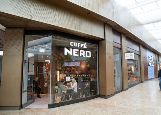 Caffe Nero Store Front Meadowhall