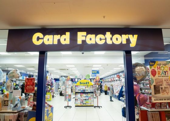 Card Factory Store Front