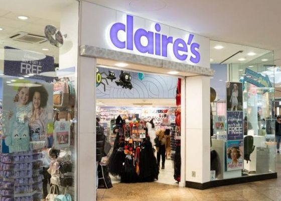 Claire's Accessories Store Front