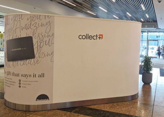 Collect Plus Unit Meadowhall