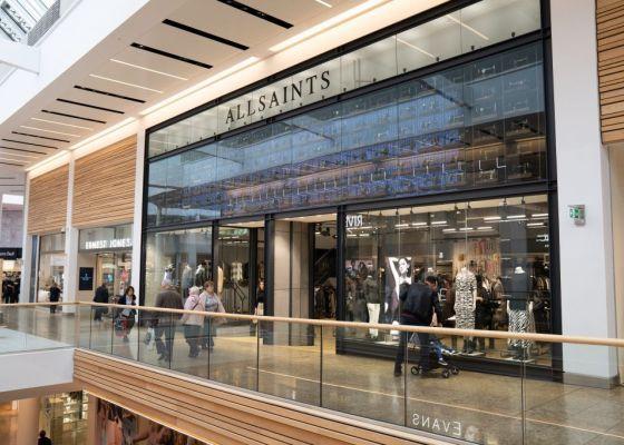 AllSaints Store Front