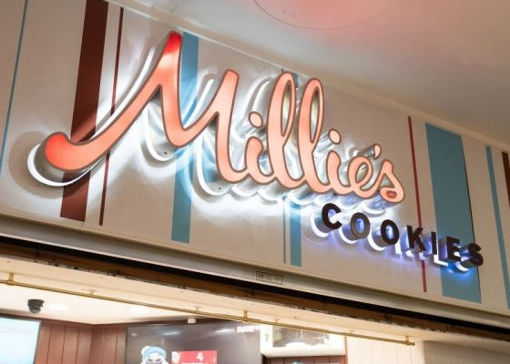 Millie's Cookies Store Front