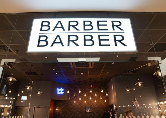 Barber Barber Store front