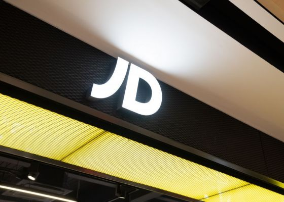 JD Sports store sign