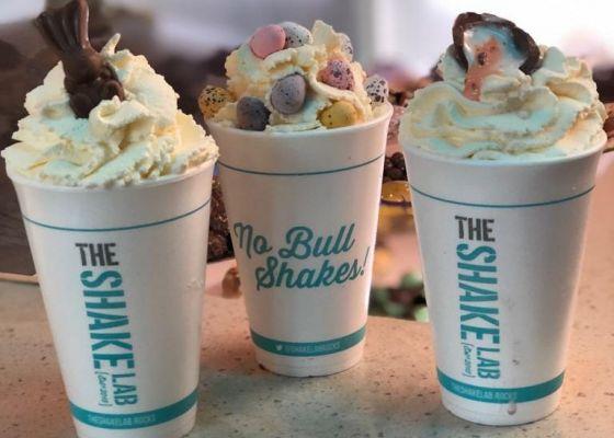 three milkshakes.