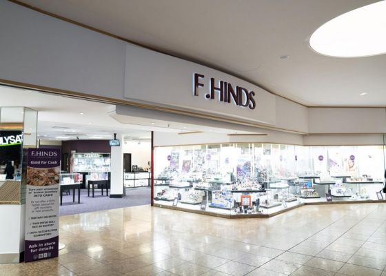 F.Hinds Store Front