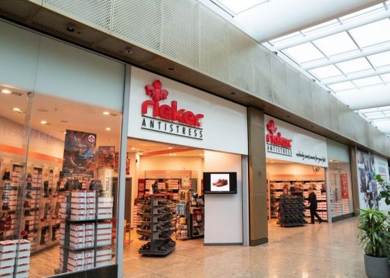 Rieker Store Front in Meadowhall.