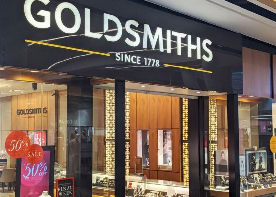 Goldsmiths Store Front