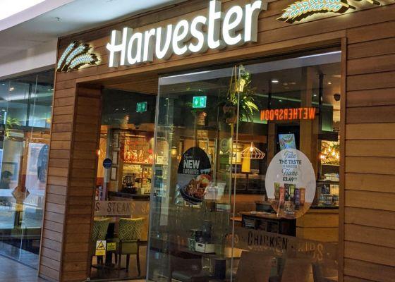 Harvester Restaurant Front