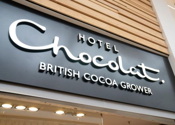 Hotel Chocolat Store Front
