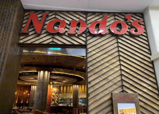 Nandos Restaurant Front
