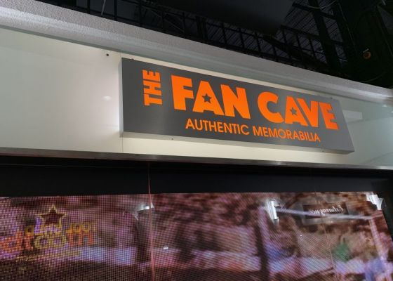 The Fan Cave store front
