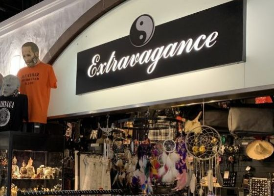 Extravagance store front