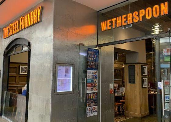 The Steel Foundary restaurant external image.