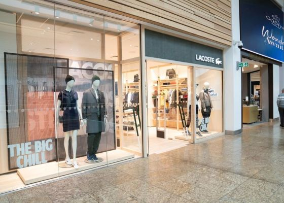 Lacoste Store Front