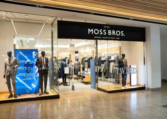 Moss Bros Store Front