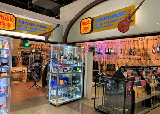 Music Box Store Front