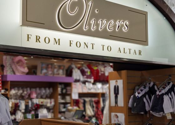 Olivers Childrenswear Store Front