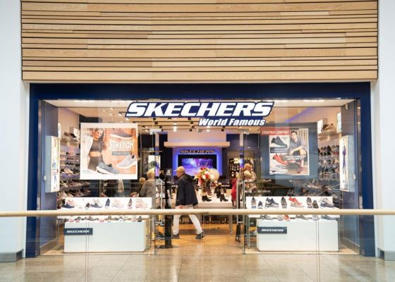 Skechers store front in Meadowhall