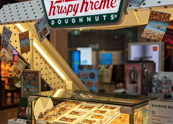 Krispy Kreme Kiosk