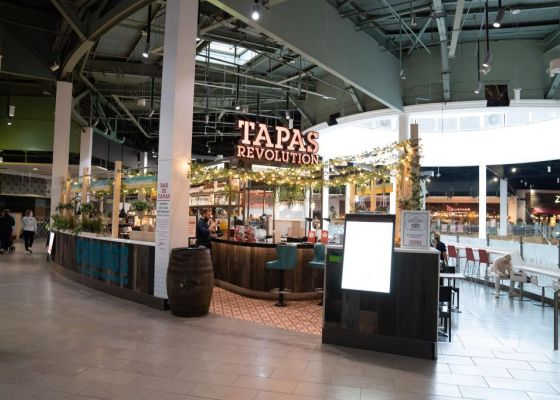 Tapas Revolution restaurant in Meadowhall