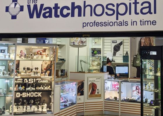 The Watch Hospital store front