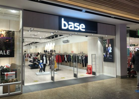 Store front of Base Childrenswear