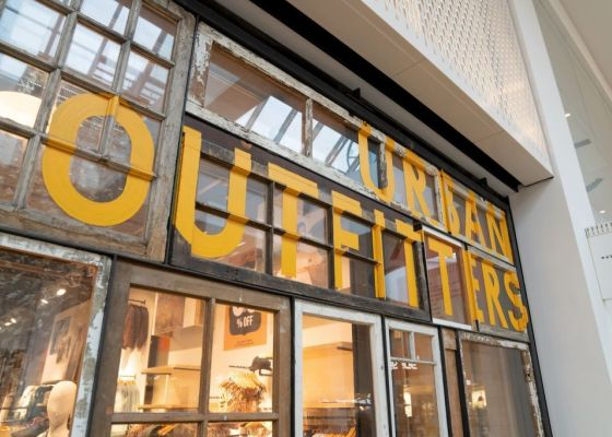 Urban Outfitters store front