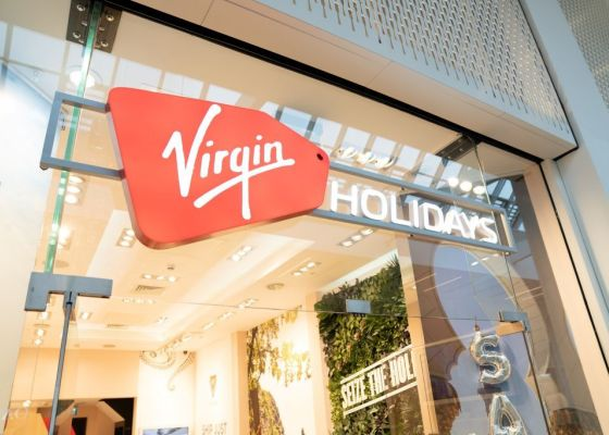 Virgin Holidays store front