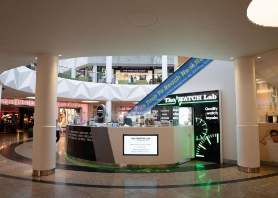 The Watch Lab unit in Meadowhall.