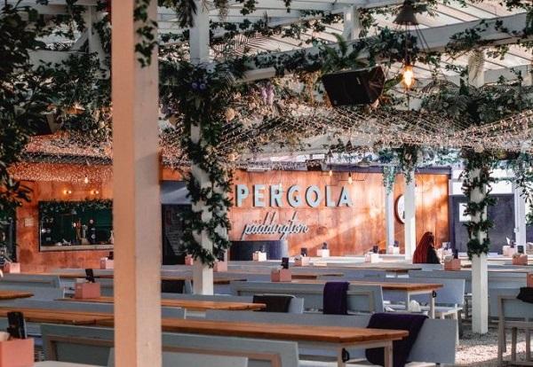 interior of Pergola bar Paddington.