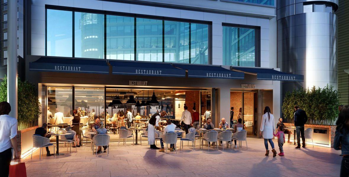 3 Sheldon Square Restaurant