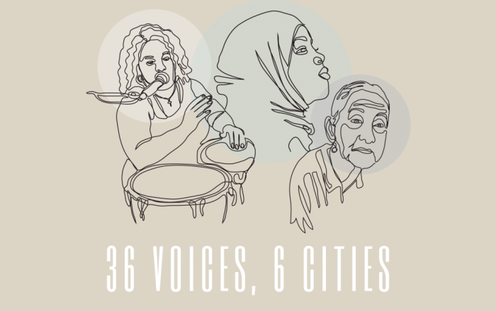 36 Voices, 6 Cities - A two part documentary celebrating IWD2021