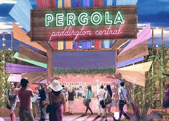 Pergola's new al-fresco dining experience