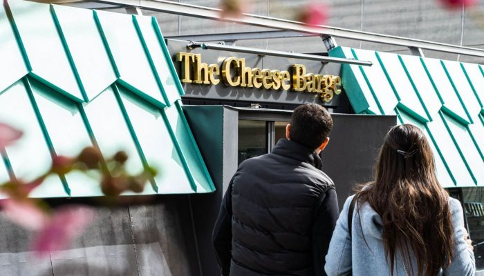 The Cheese Barge to dockin Paddington Central this May