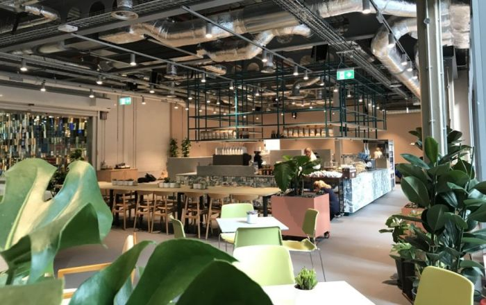 A new sustainable café is now open at Regent's Place