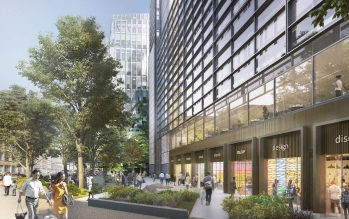 A look to the future of Regent's Place