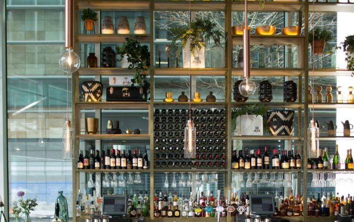 Refinery at regents place bar