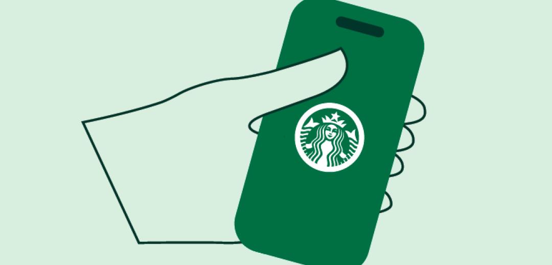 Menu of Starbucks