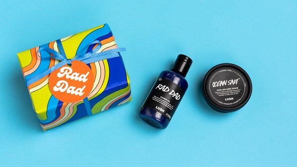 Lush father's day products named Rad Dad.