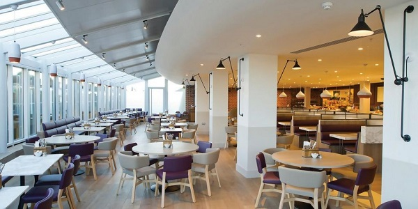 The Terrace Restaurant at Fenwick Royal Victoria Place
