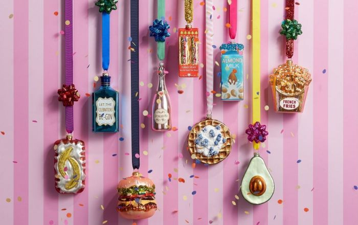 Christmas decorations from Paperchase